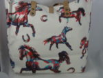 COLORFUL HORSE TOTE