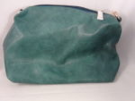 DARK TURQUOISE  PURSE WITH SIDE POCKETS
