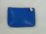 ROYAL BLUE  WITH CLEAR MIDDLE TWO IN ONE BAG